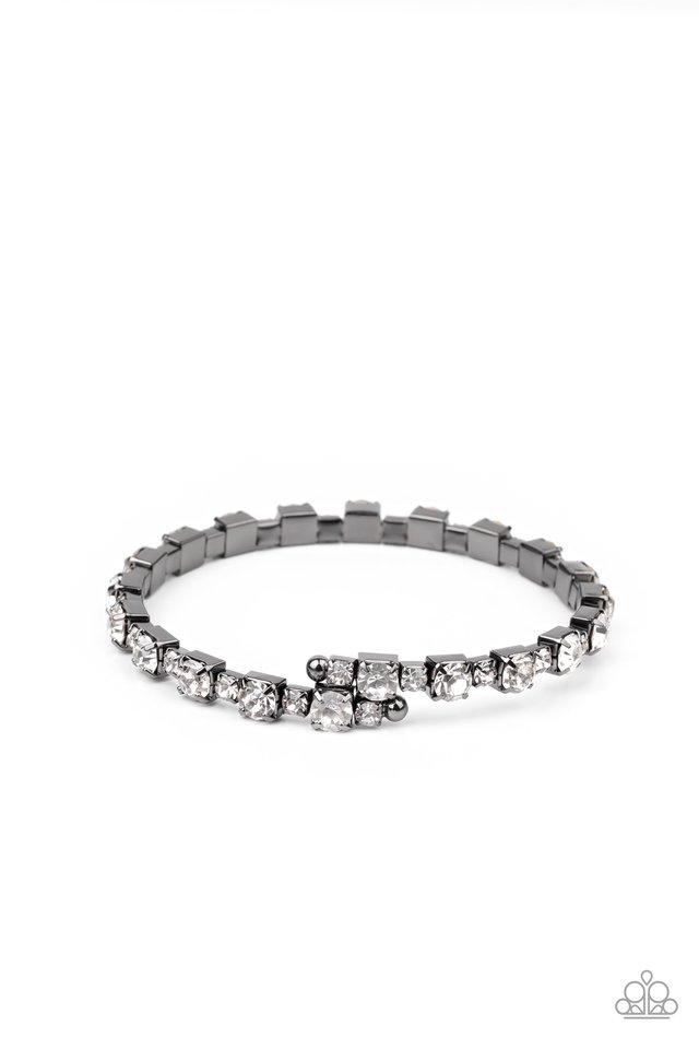 Photo Op - Black - Paparazzi Bracelet Image