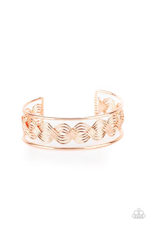 WEAVE An Impression - Copper - Paparazzi Bracelet Image