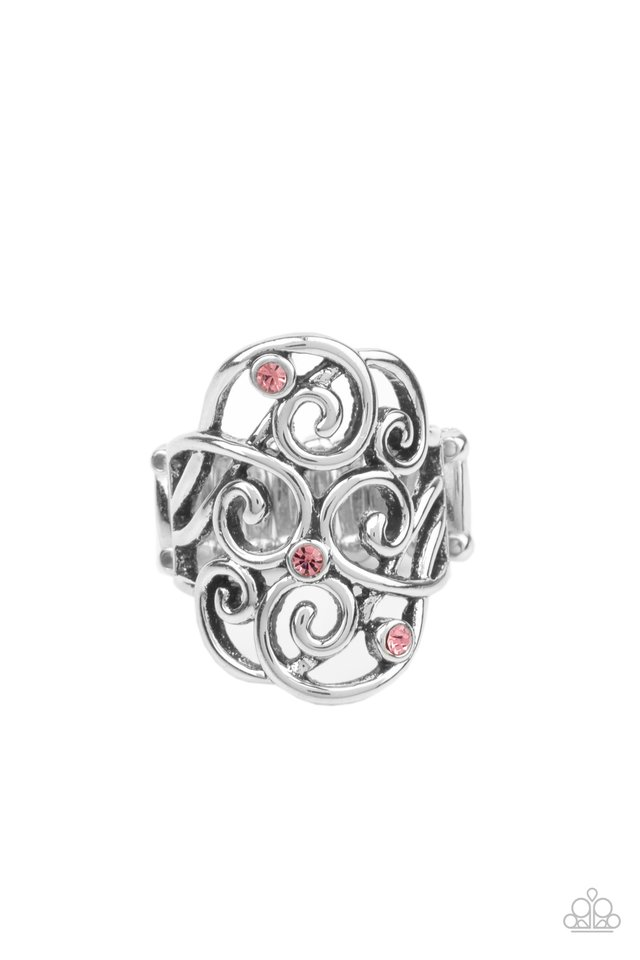 FRILL Out! - Pink - Paparazzi Ring Image