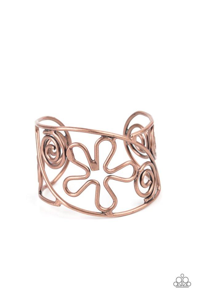 Groovy Sensations - Copper - Paparazzi Bracelet Image