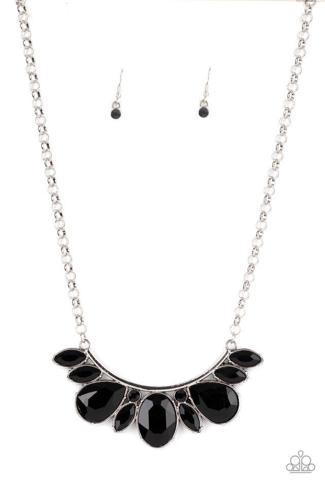 Never SLAY Never - Black - Paparazzi Necklace Image