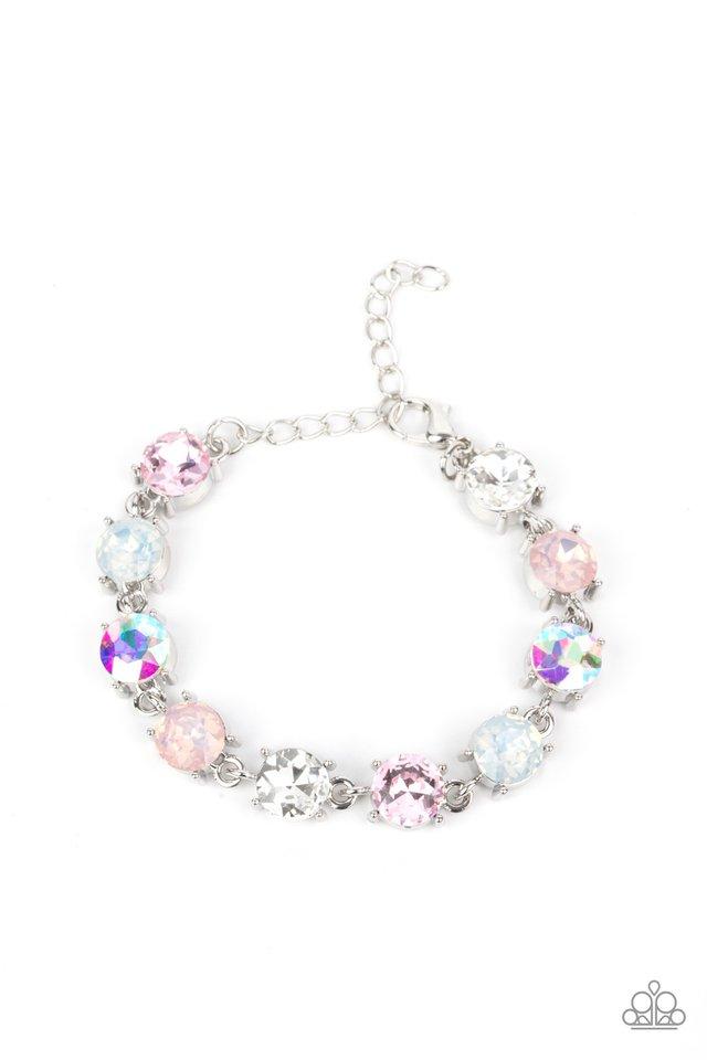 Celestial Couture - Pink - Paparazzi Bracelet Image
