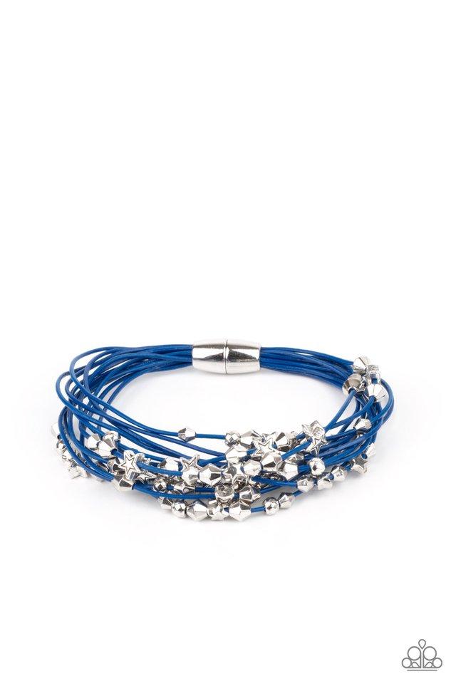 Star-Studded Affair - Blue - Paparazzi Bracelet Image