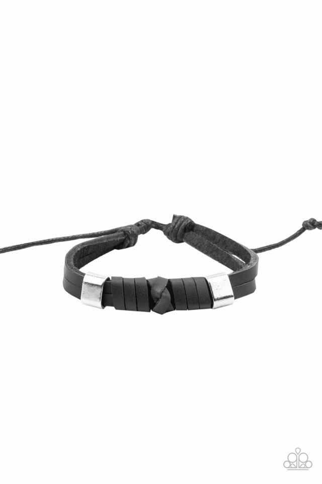 Drifter Decor - Black - Paparazzi Bracelet Image