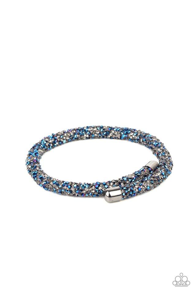 Roll Out The Glitz - Multi - Paparazzi Bracelet Image