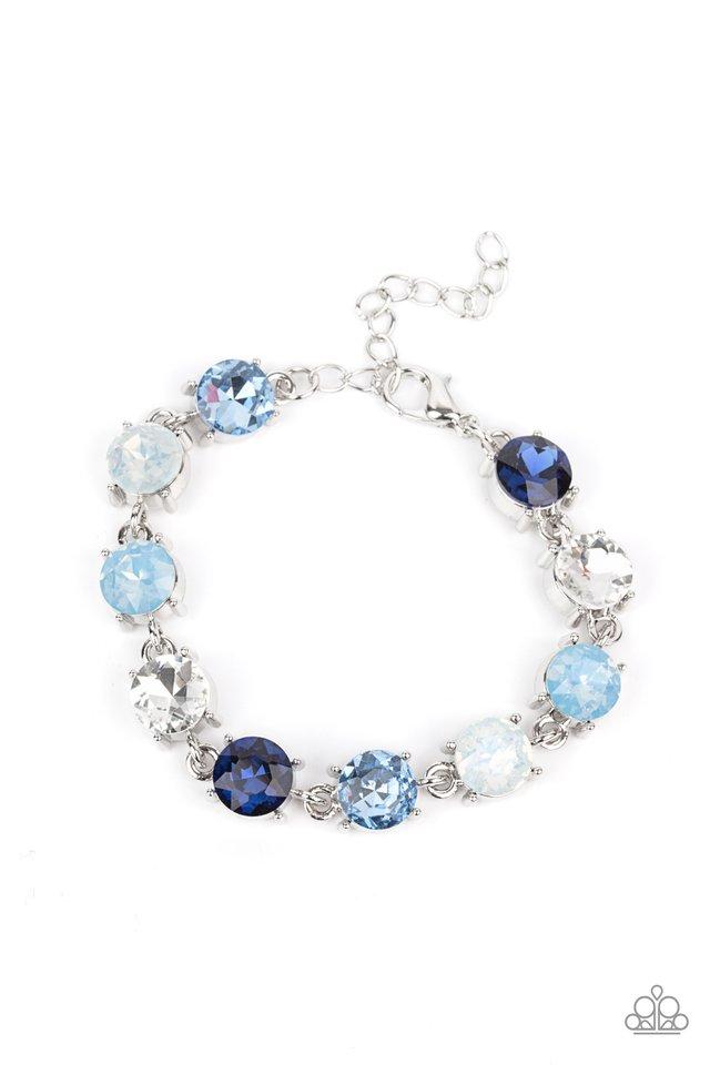 Celestial Couture - Blue - Paparazzi Bracelet Image