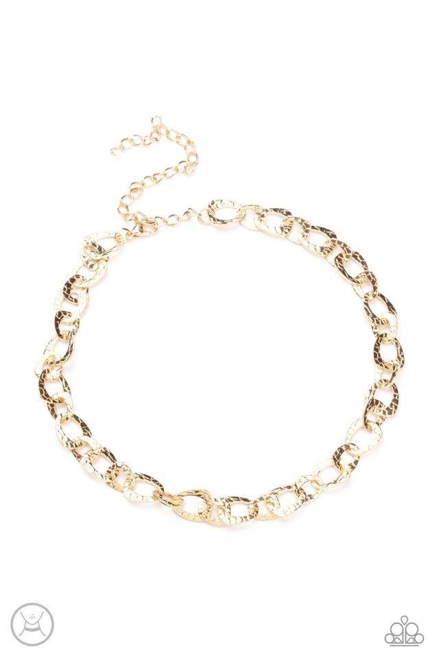 Urban Safari - Gold - Paparazzi Necklace Image