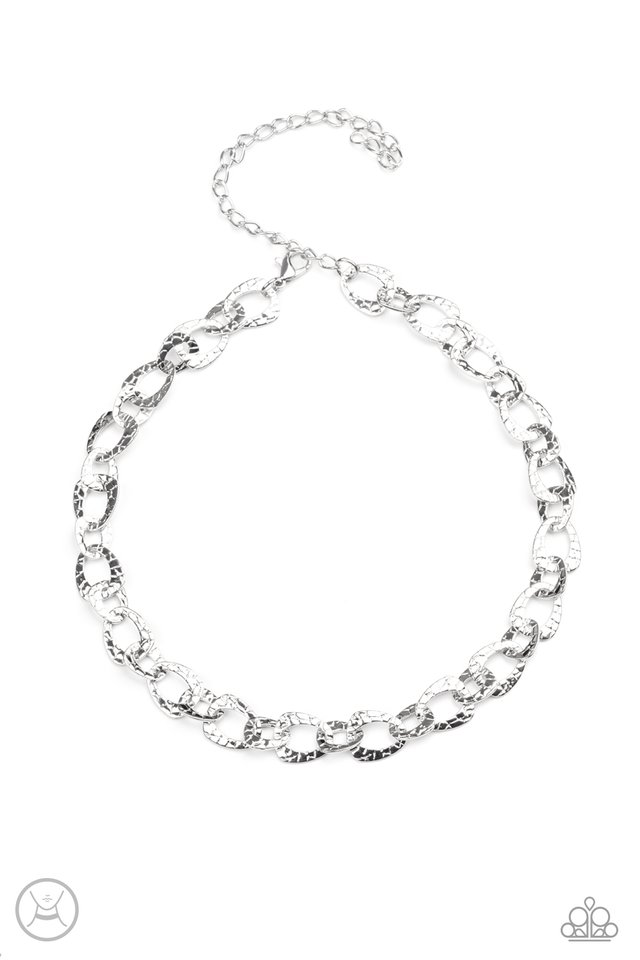 Urban Safari - Silver - Paparazzi Necklace Image
