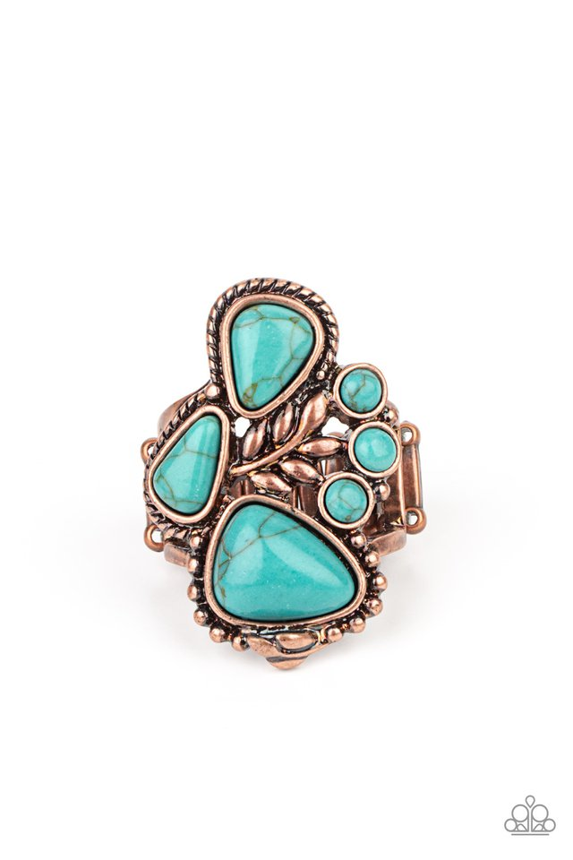 Mystical Mesa - Copper - Paparazzi Ring Image