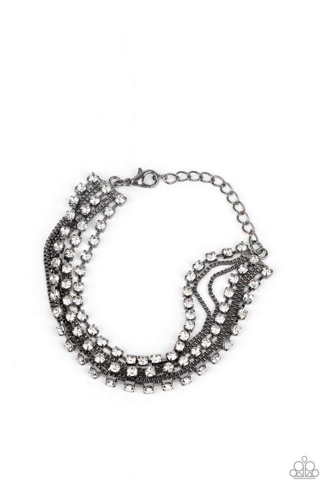 Thats a Smash! - Black - Paparazzi Bracelet Image