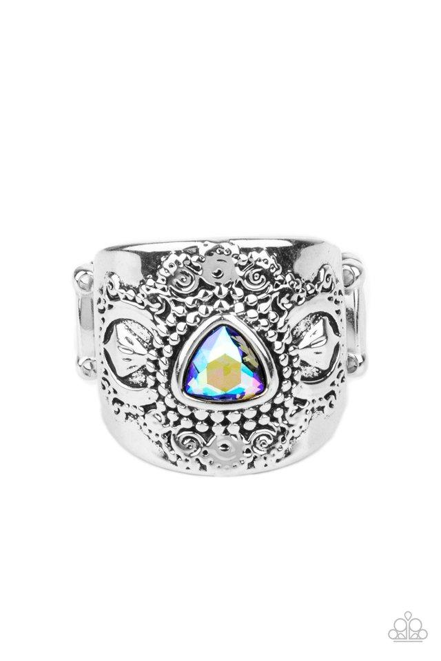Magic Maker - Green - Paparazzi Ring Image