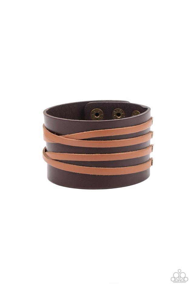Pirate Plunder - Brown - Paparazzi Bracelet Image