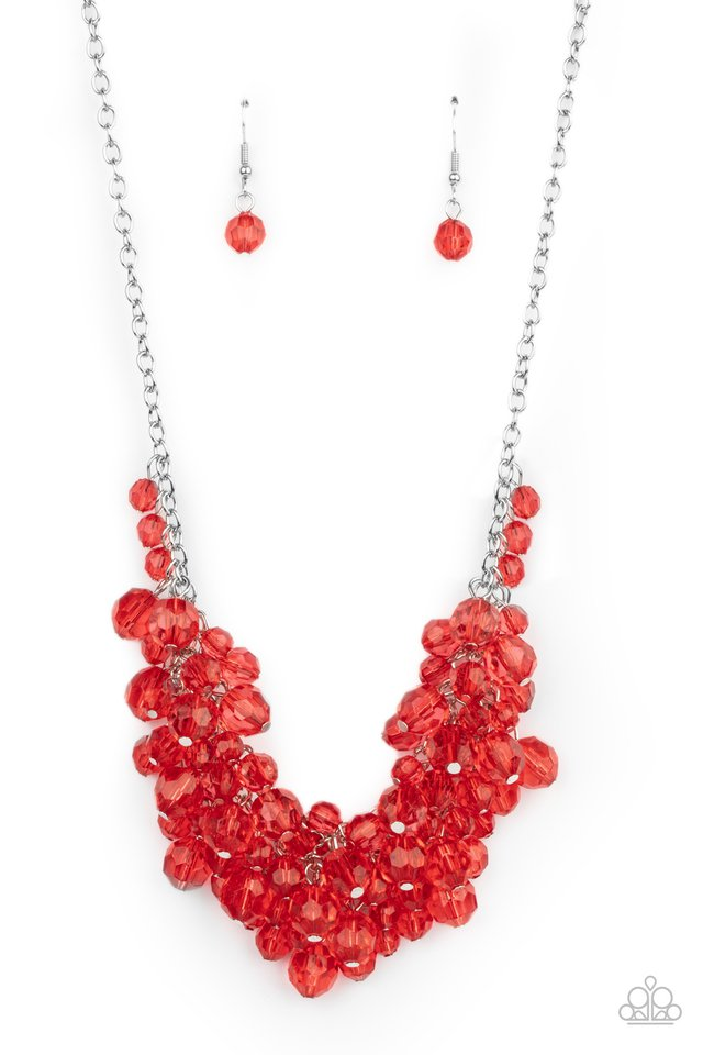 Let The Festivities Begin - Red - Paparazzi Necklace Image