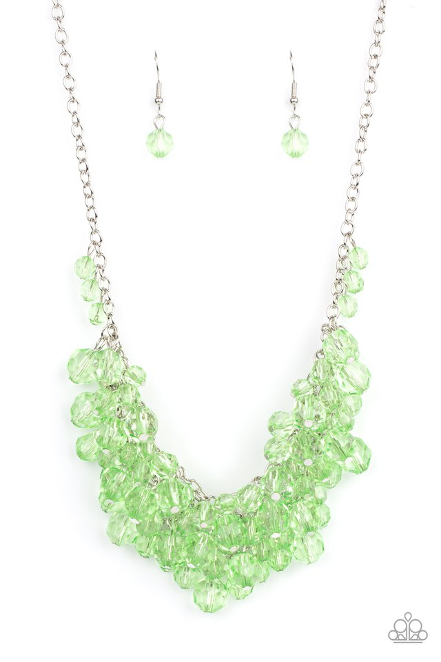 Let The Festivities Begin - Green - Paparazzi Necklace Image