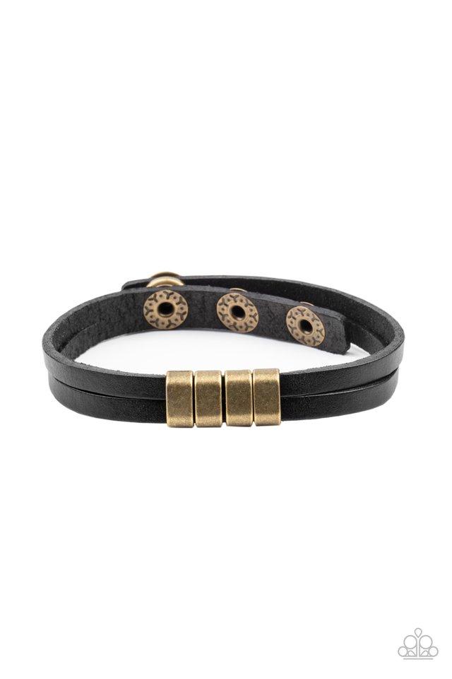 Best ROAM-mate Ever - Black - Paparazzi Bracelet Image