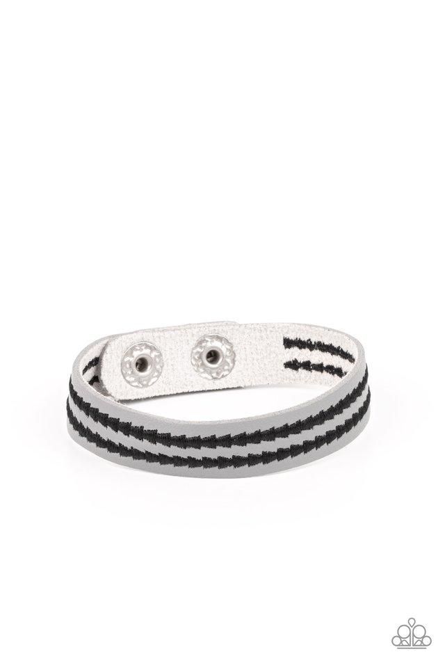 Show The Way - Silver - Paparazzi Bracelet Image