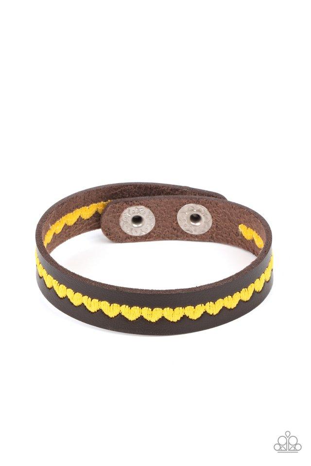 Made With Love - Yellow - Paparazzi Bracelet Image