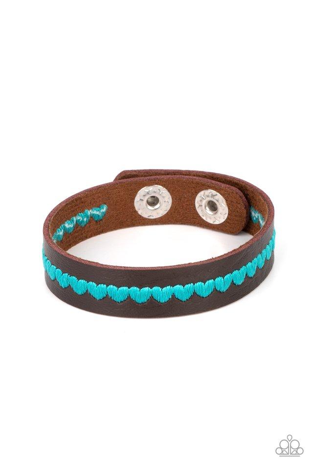 Made With Love - Blue - Paparazzi Bracelet Image