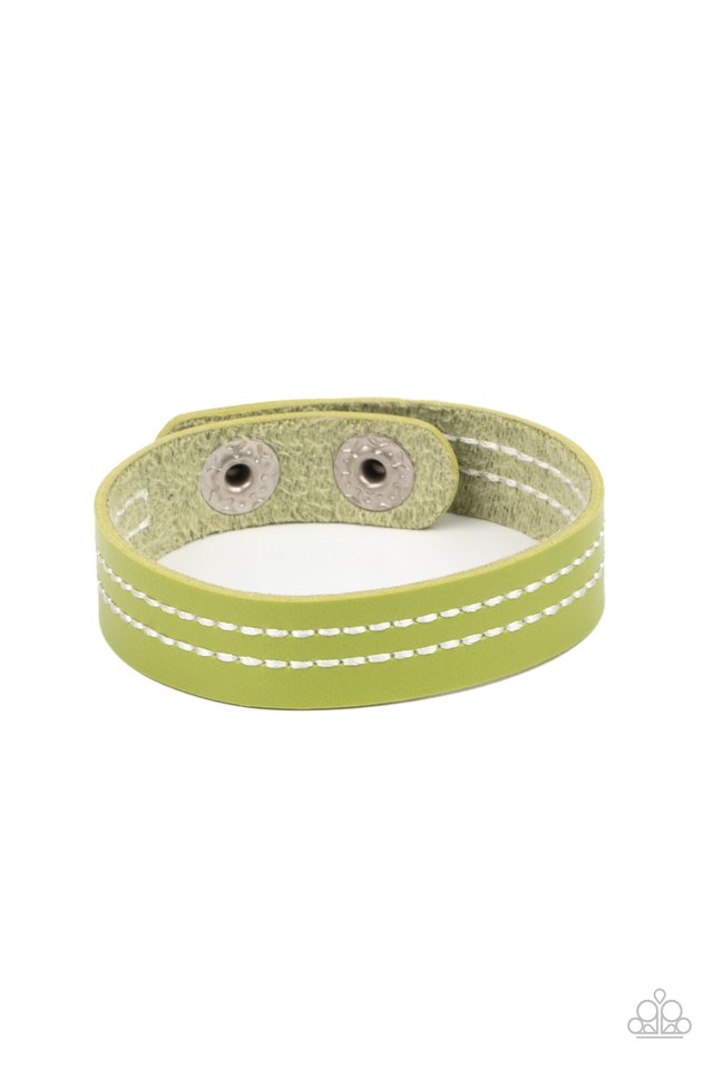 Life is WANDER-ful - Green - Paparazzi Bracelet Image