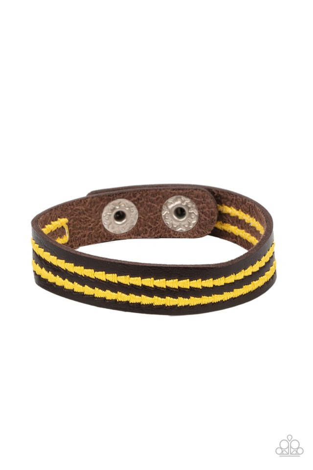 Show The Way - Yellow - Paparazzi Bracelet Image