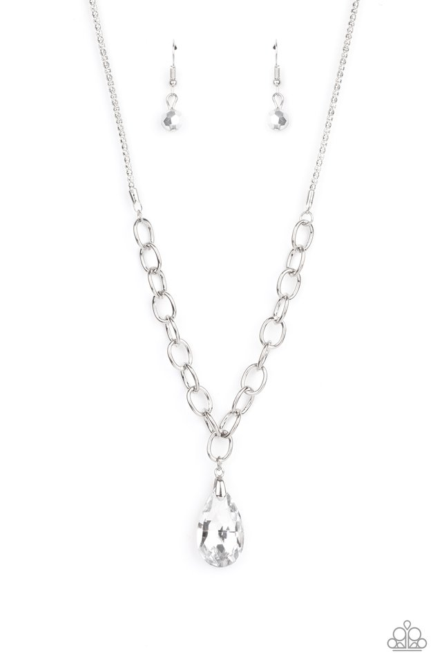 Mega Modern - Silver - Paparazzi Necklace Image