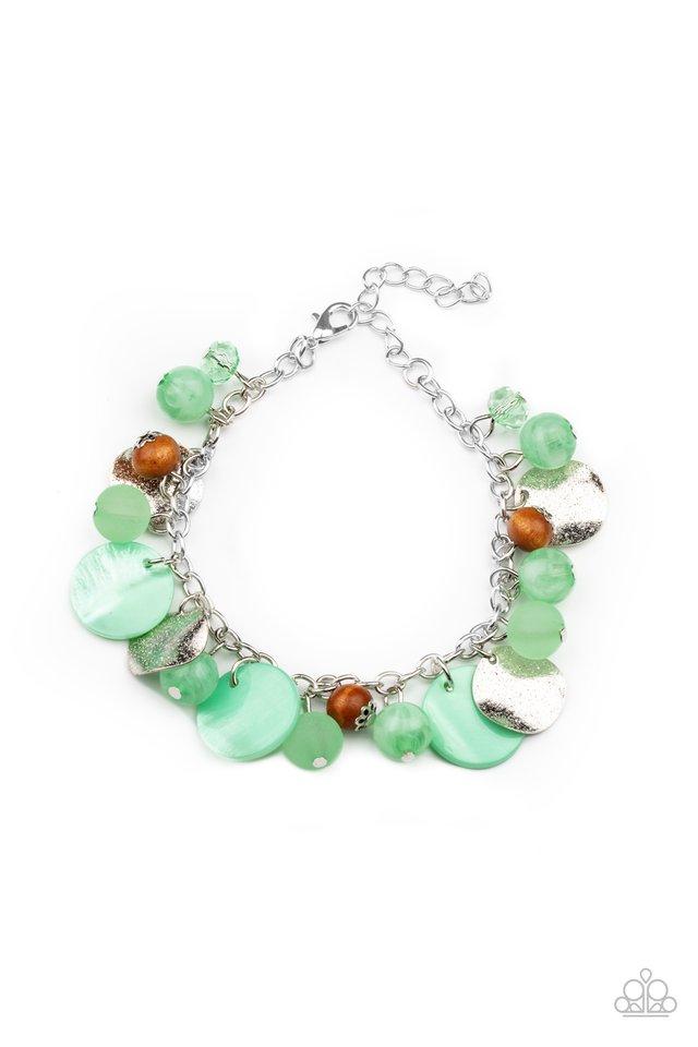 Springtime Springs - Green - Paparazzi Bracelet Image