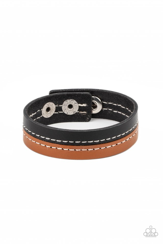 Simply Safari - Black - Paparazzi Bracelet Image