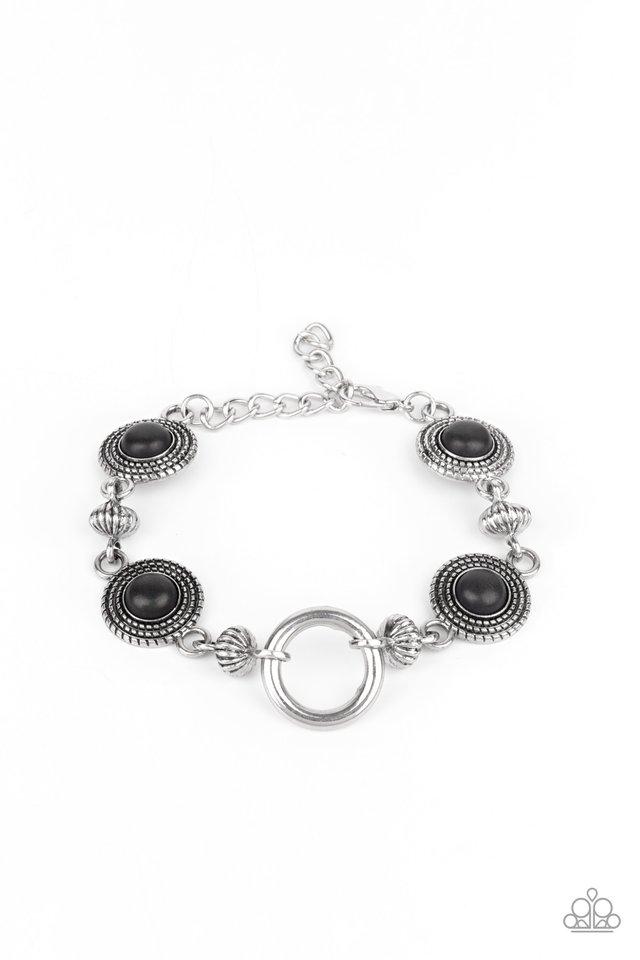 Musical Mountains - Black - Paparazzi Bracelet Image