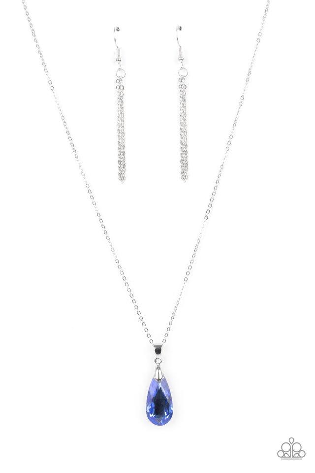 Optimized Opulence - Blue - Paparazzi Necklace Image