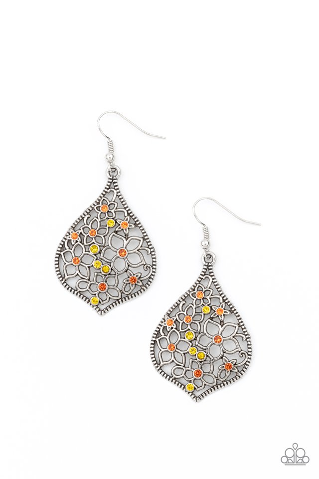 Full Out Florals - Multi - Paparazzi Earring Image