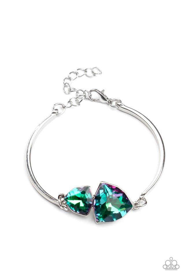 Deep Space Shimmer - Purple - Paparazzi Bracelet Image