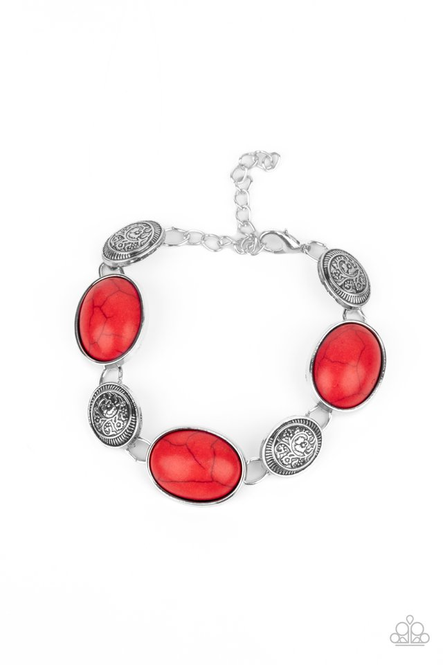 Cactus Country - Red - Paparazzi Bracelet Image