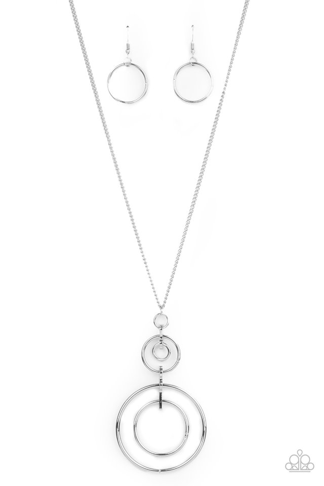 The Inner Workings - Silver - Paparazzi Necklace Image