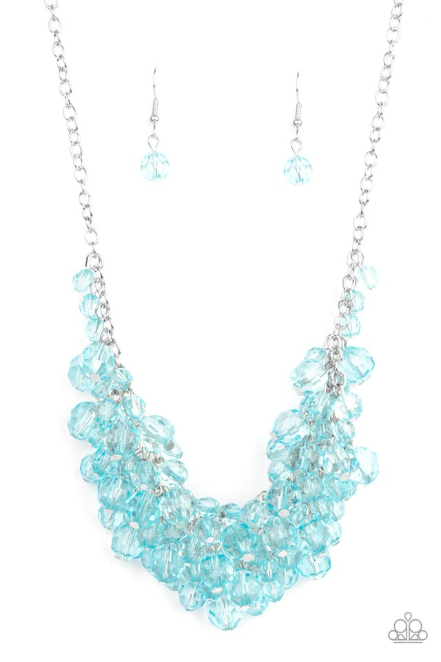 Let The Festivities Begin - Blue - Paparazzi Necklace Image