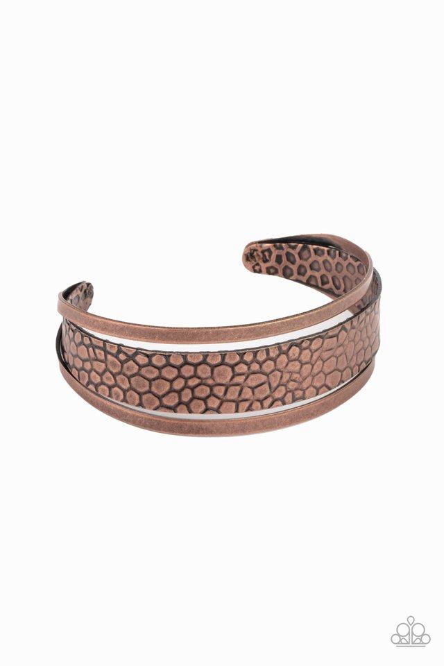 Jungle Jingle - Copper - Paparazzi Bracelet Image