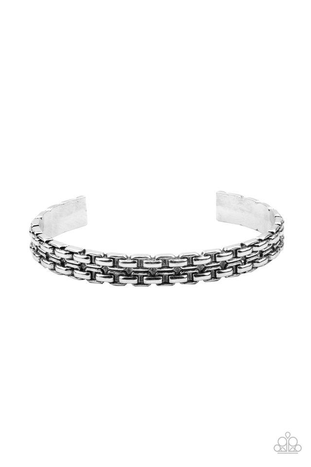 Full Rig - Silver - Paparazzi Bracelet Image