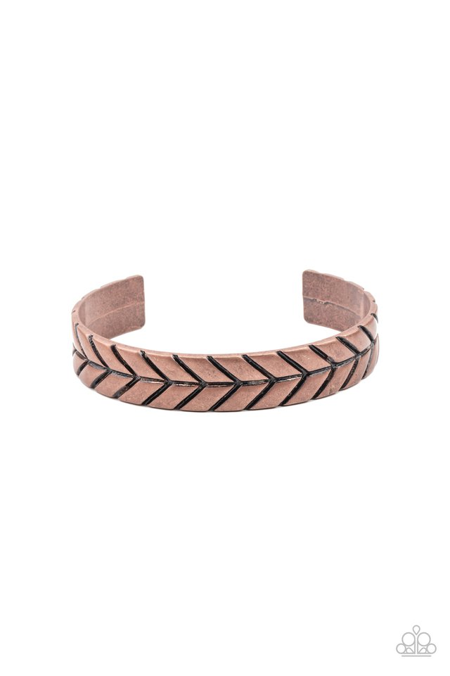 Ancient Archer - Copper - Paparazzi Bracelet Image