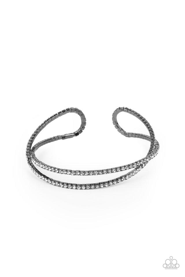 Plus One Status - Black - Paparazzi Bracelet Image