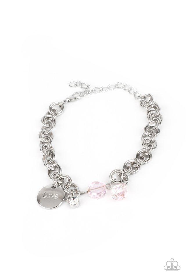Lovable Luster - Pink - Paparazzi Bracelet Image