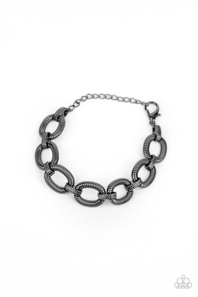 Industrial Amazon - Black - Paparazzi Bracelet Image