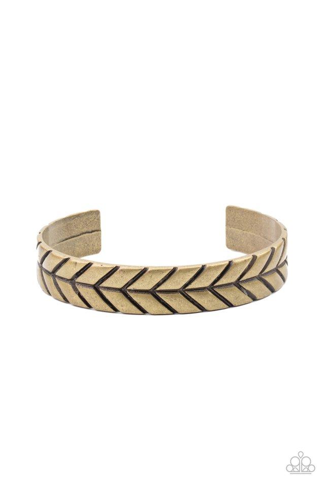 Ancient Archer - Brass - Paparazzi Bracelet Image
