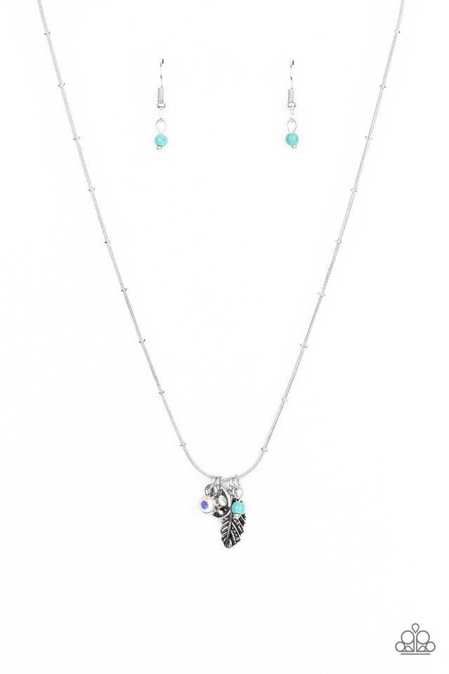 Wildly WANDER-ful - Blue - Paparazzi Necklace Image