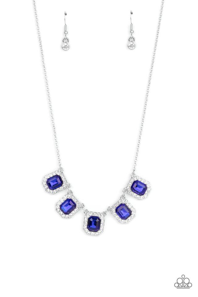 Next Level Luster - Blue - Paparazzi Necklace Image