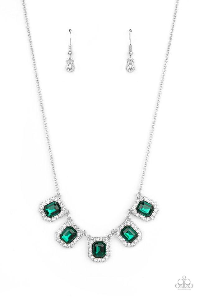 Next Level Luster - Green - Paparazzi Necklace Image