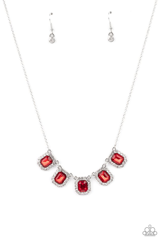 Next Level Luster - Red - Paparazzi Necklace Image