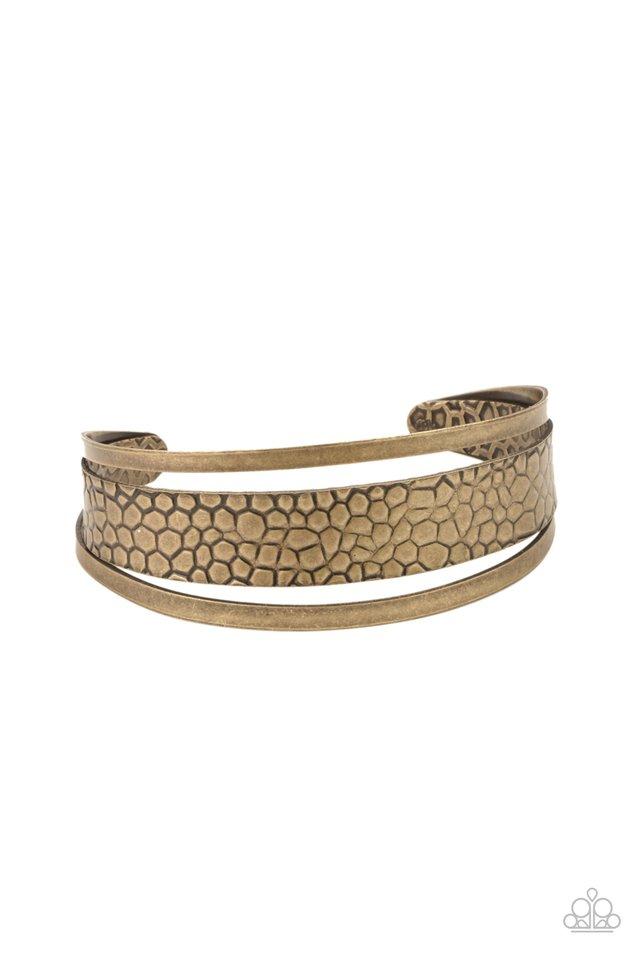 Jungle Jingle - Brass - Paparazzi Bracelet Image