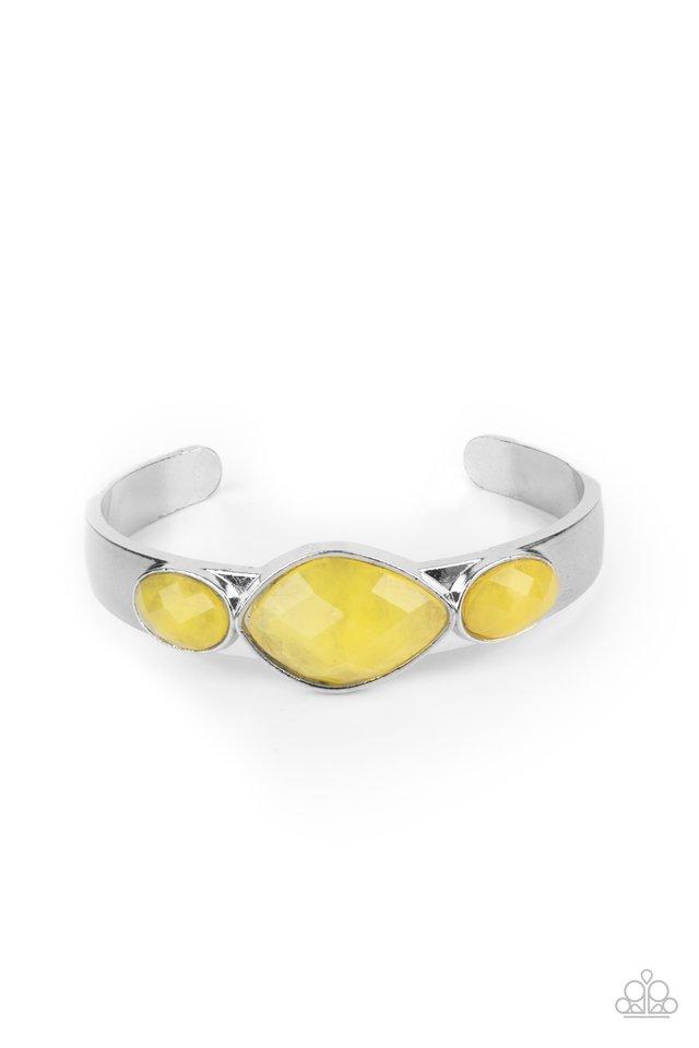 Next Stop, Olympus! - Yellow - Paparazzi Bracelet Image