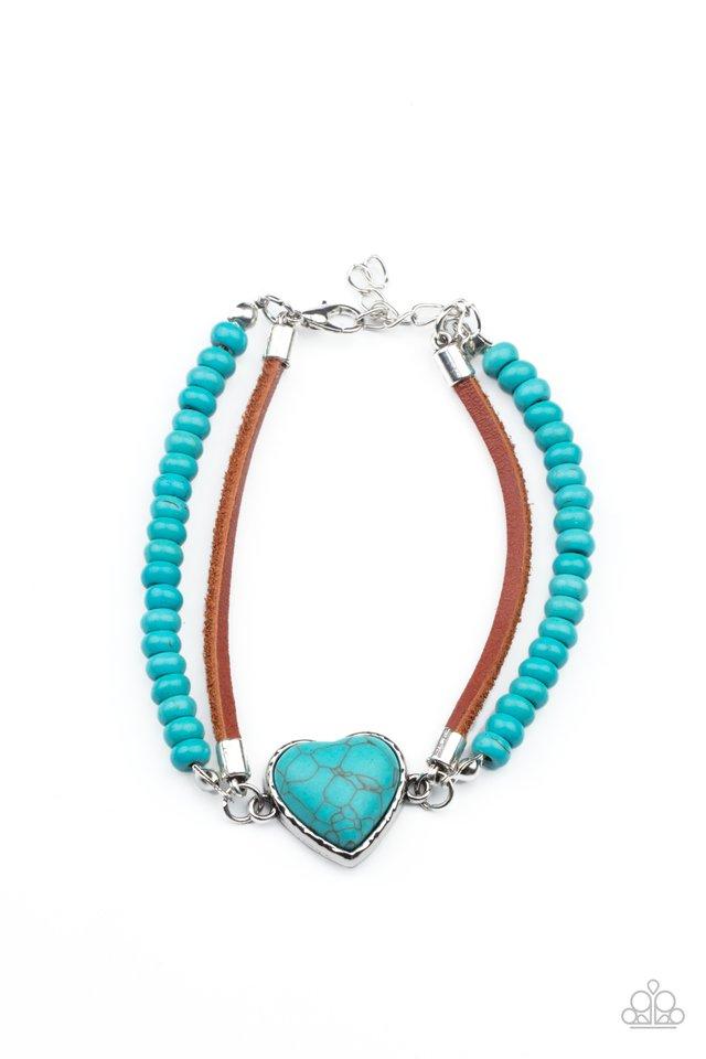 Charmingly Country - Blue - Paparazzi Bracelet Image