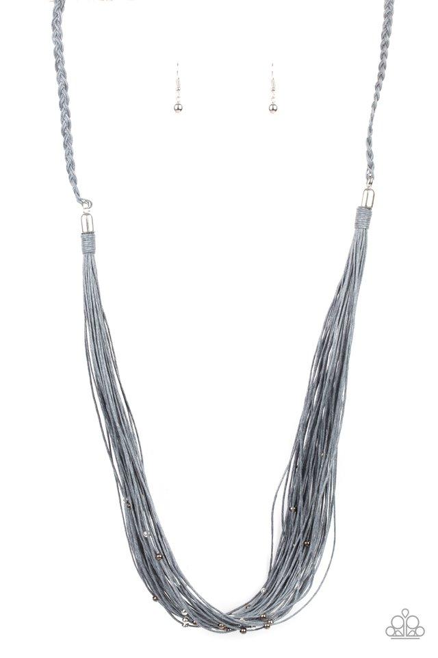 Homespun Artisan - Silver - Paparazzi Necklace Image