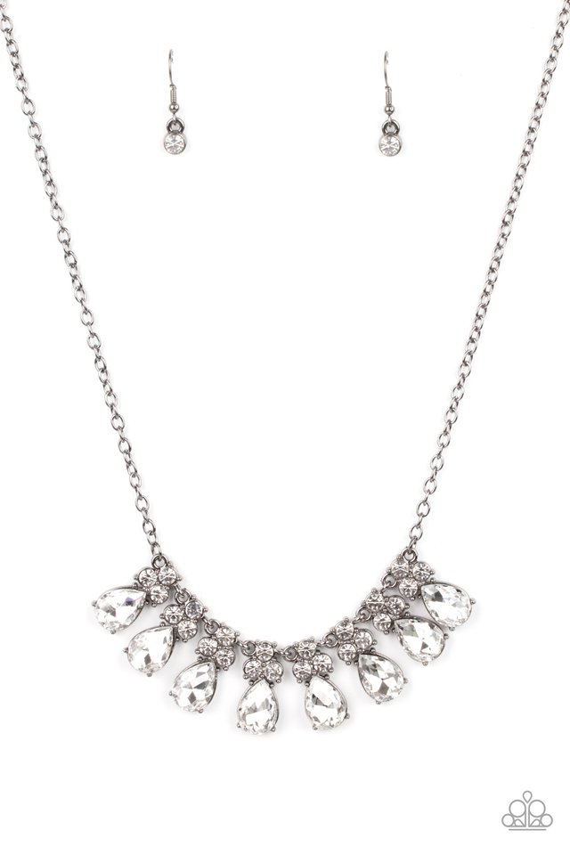 Sparkly Ever After - Black - Paparazzi Necklace Image